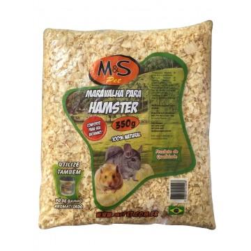 Serragem Natural M&S Pet para Hamsters - 350g