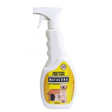 Spray Inseticida Matacura para Canil - 500ml
