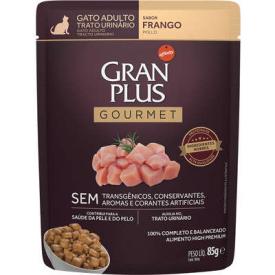 GranPlus Sachê Gourmet Trato Urinário Frango para Gatos Adultos - 85g