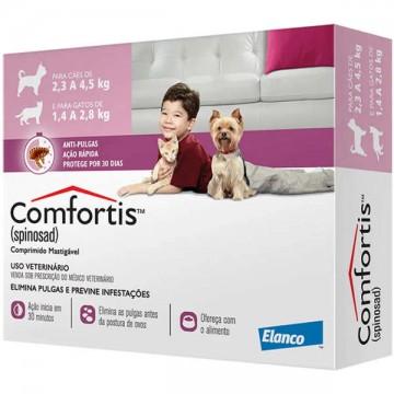 Antipulgas Comfortis 140mg para Cães de 2,3 a 4kg e Gatos de 1,4 a 2,8kg
