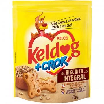 Biscoito Keldog +Crok Integral - 400g