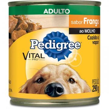 Pedigree Lata para Cães Adultos Sabor Frango ao Molho - 280g